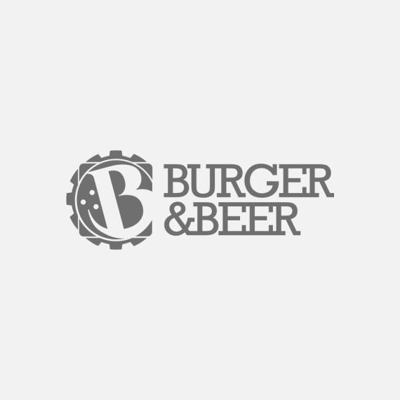 Manicromio | agenzia di grafica e stampa | ostia lido | Roma | web | burger & beer logo