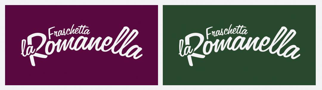 Manicromio | agenzia di grafica e stampa | ostia lido | Roma | web | frashetta la romanella logo fiamme gialle versione logo