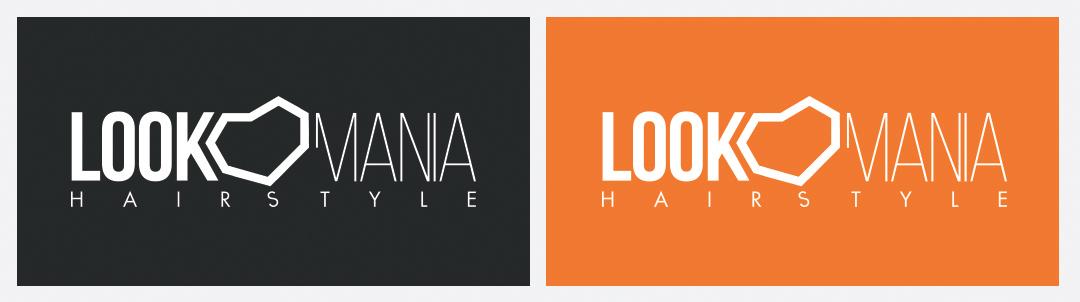 Manicromio | agenzia di grafica e stampa | ostia lido | Roma | web | look mania hair style parrucchiere logo ostia