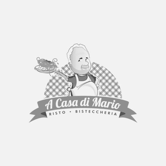 Manicromio | agenzia di grafica e stampa | ostia lido | Roma | web | a casa di mario ristorante bisteccheria logo