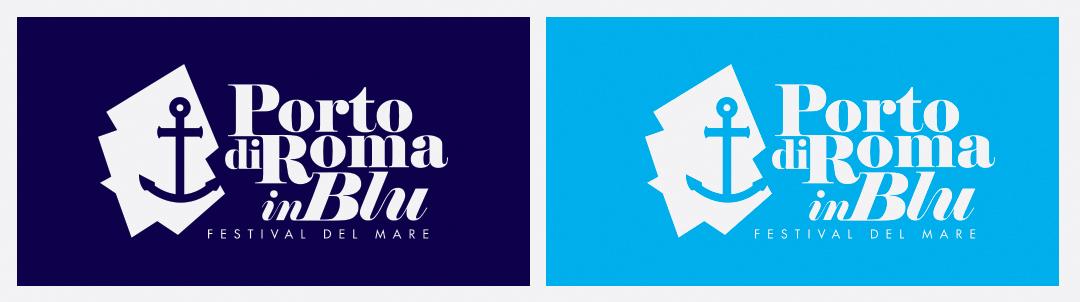 Manicromio | agenzia di grafica e stampa | ostia lido | Roma | web | porto di roma in blu festival del mare porto di ostia loghi ostia fiumicino