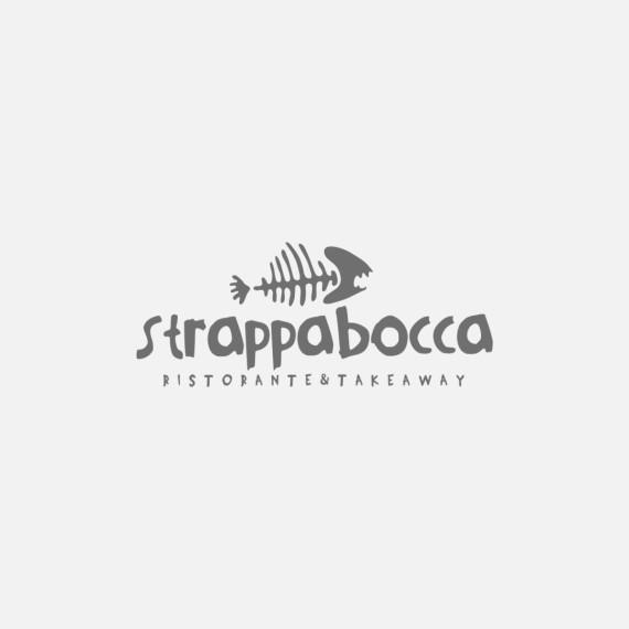 Manicromio | agenzia di grafica e stampa | ostia lido | Roma | web | strappabocca strappa bocca ristorante & takeaway infernetto logo